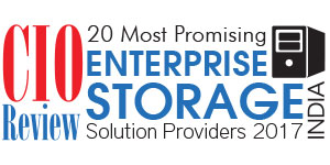 20 Most Promising Enterprise Storage Solutions Providers- 2017